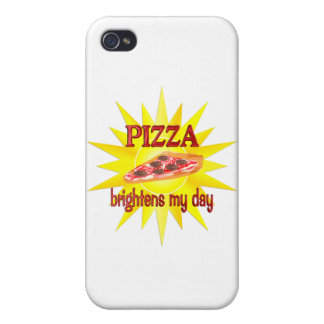 Pizza Brightens Case For iPhone 4