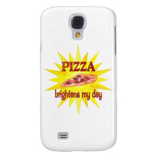 Pizza Brightens Samsung Galaxy S4 Cover