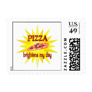 Pizza Brightens Stamps