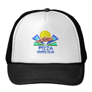 Pizza Brightens the Day Trucker Hat