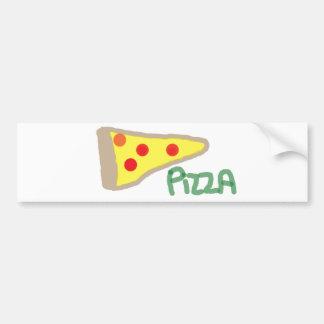 Pizza Bumper Sticker