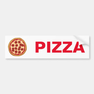 Pizza Bumper Sticker