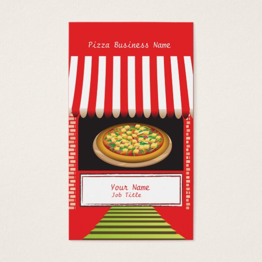 Pizza Business Business Card