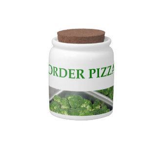 pizza candy dishes