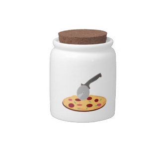 Pizza Candy Dish