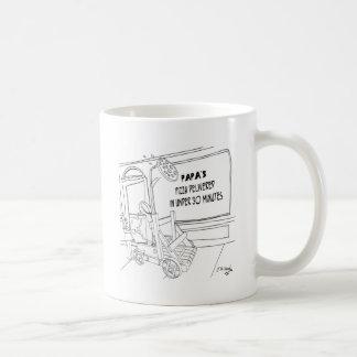 Pizza Cartoon 9338 Coffee Mug
