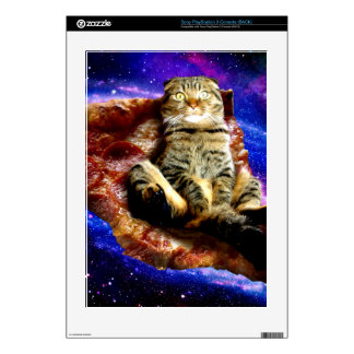pizza cat - crazy cat - cats in space PS3 decal