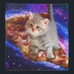 "pizza cat - cute cats - kitty - kittens bandana<br><div class=""desc"">pet , pizza , cat , &quot;tabby cat &quot;,  &quot;black cat&quot; , &quot;funny cats&quot; , &quot;space cat &quot;, &quot;cat space &quot;, &quot;cat pizza&quot; , &quot;cats in space&quot; , </div>"