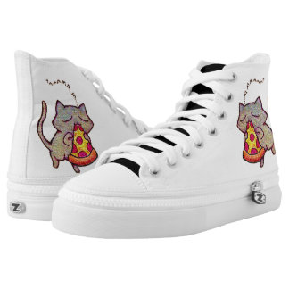 Pizza Cat! High-Top Sneakers