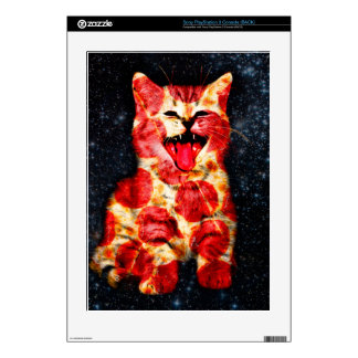 pizza cat - kitty - pussycat skin for the PS3 console
