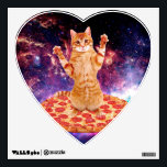 "pizza cat - orange cat - space cat wall sticker<br><div class=""desc"">pet , pizza , cat , kittens , &quot;cute cats &quot;, &quot;tabby cat&quot; , kitty , &quot;cat space &quot;, &quot;cat pizza&quot; , &quot;cats in space&quot; , </div>"