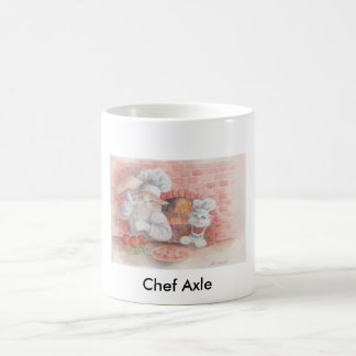 Pizza Chef Axle Coffee Mug