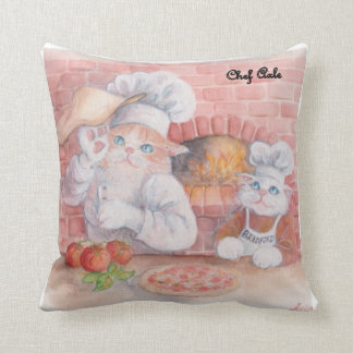 Pizza Chef Axle Throw Pillow
