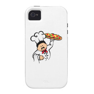 PIZZA CHEF iPhone 4/4S CASES