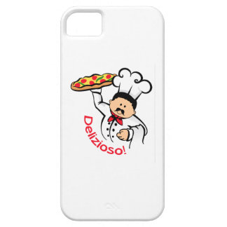 PIZZA CHEF DELIZIOSO iPhone 5 CASES