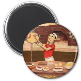 Pizza Chef (JOH-007) Magnet