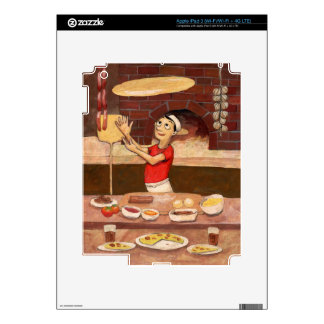 Pizza Chef JOH-007 iPad 3 Decals