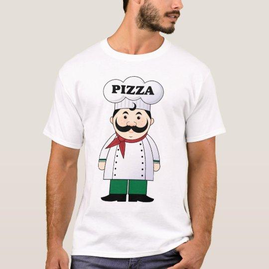 Pizza Chef Mens T-shirt