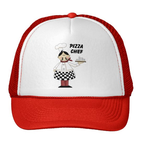 Pizza Chef Trucker Hat