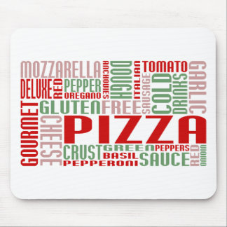 pizza chitChat Mouse Pad