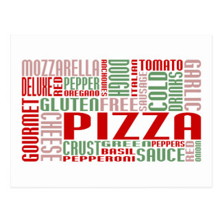 pizza chitChat Postcard