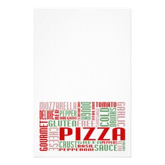 pizza chitChat Stationery