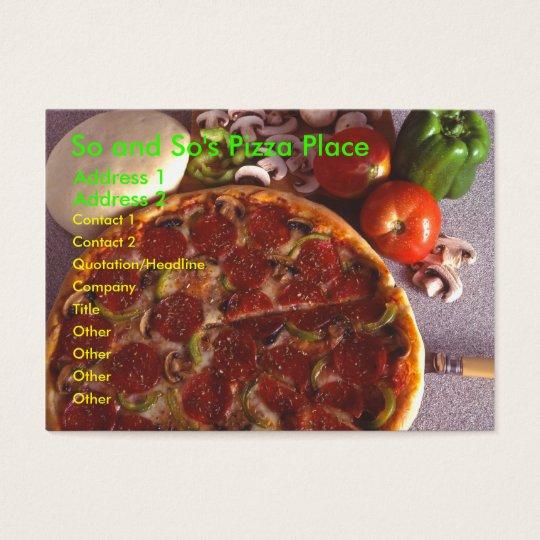 Pizza Chubby Card