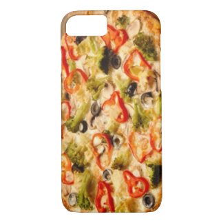 Pizza Close Up iPhone 7 Case