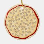Pizza con las setas ornaments para arbol de navidad