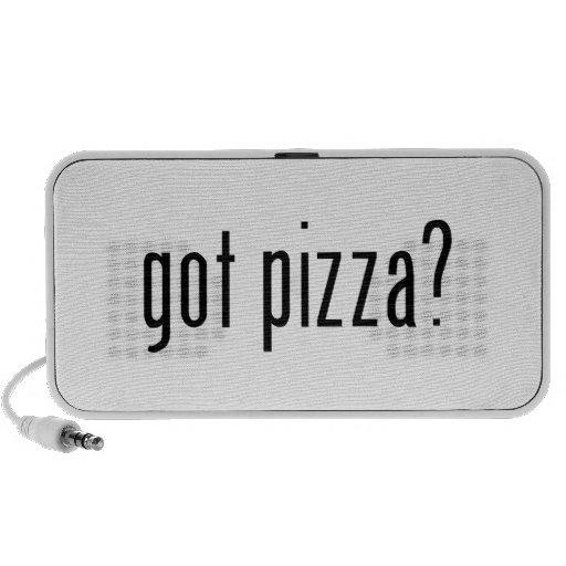 ¿pizza conseguida? altavoz