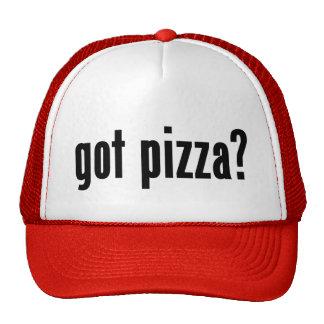 ¿pizza conseguida? gorras