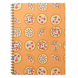 ¿Pizza conseguida? Libros De Apuntes Con Espiral