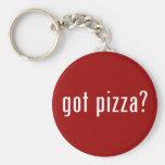 ¿pizza conseguida? llavero personalizado