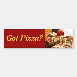 ¿Pizza conseguida? pegatina para el parachoques Pegatina Para Auto