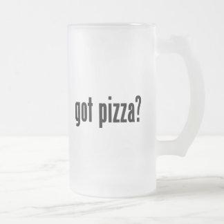 ¿pizza conseguida? taza de café