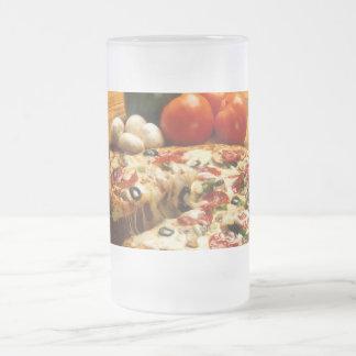 ¿Pizza conseguida? taza