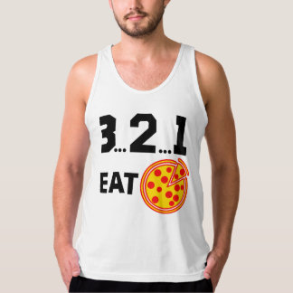 Pizza Countdown Tank Top