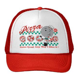 Pizza cualquier rebanada de la manera I él gorra