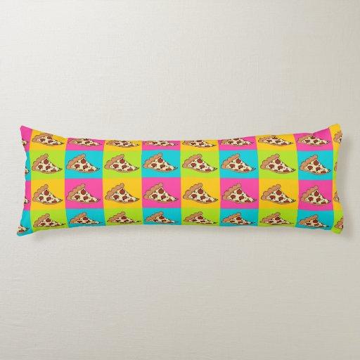 pizza custom body pillow zazzle. Black Bedroom Furniture Sets. Home Design Ideas