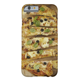 Pizza cut into pieces barely there iPhone 6 case
