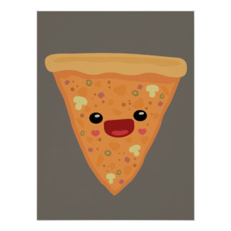 Pizza Cutie Poster