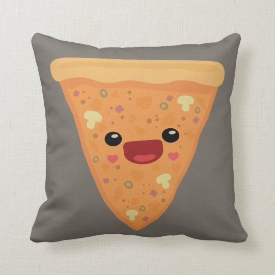 Pizza Cutie Throw Pillow