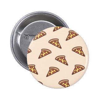 Pizza de Dreamin Pin Redondo De 2 Pulgadas