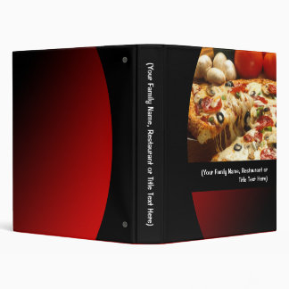 """Pizza de encargo/carpeta italiana de la comida de carpeta 1"""""""