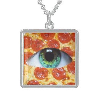 Pizza de Illuminati Collar Personalizado