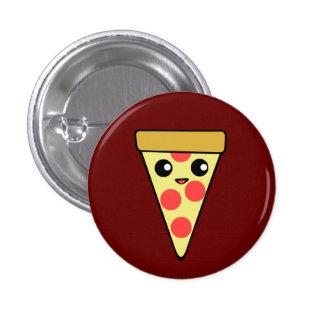 Pizza de Kawaii Pin Redondo De 1 Pulgada