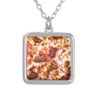 Pizza de la carne joyerías