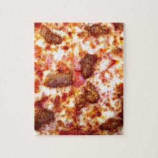 Pizza de la carne puzzle