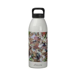 Pizza de la combinación botella de agua reutilizable