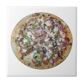 Pizza de la combinación azulejo cuadrado pequeño